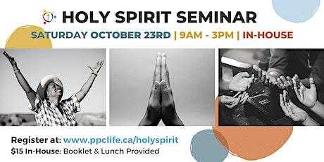 Holy Spirit Seminar tickets