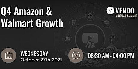 VENDO Virtual Summit: Q4 Amazon & Walmart Growth tickets