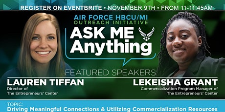 USAF HBCU/MI  Ask Me Anything Event with Ms. Anissa Lumpkin & Guest tickets