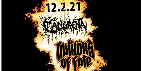 Cangrena, Authors Of Fate (EP Release Show), D.N.S. & Klezer tickets