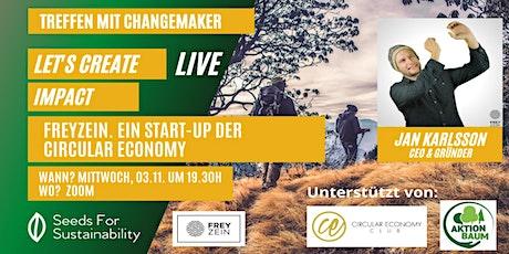 FREYZEIN. Ein Start up der Circular Economy tickets