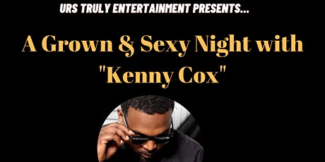 A Night With Kenny Cox and the Exxposure Show and Band tickets