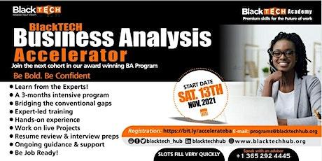 BlackTECH Business Analysis Accelerator Program tickets