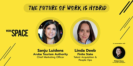 The Future of Work is Hybrid tickets