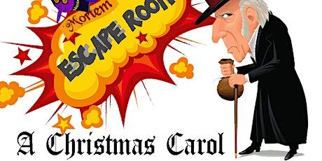 A Christmas Carol Escape Room @Ridgewood Winery Birdsboro 11.14.2021 tickets