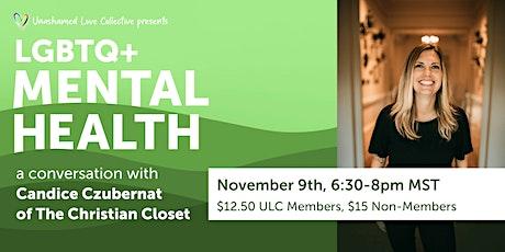 LGBTQ Mental Health: A Conversation with Candice Czubernat tickets