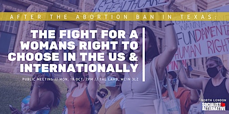 After the Texas Abortion Ban: The Fight for Choice Continues tickets