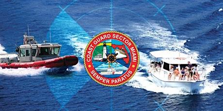 US Coast Guard :Taller Transporte de Pasajeros Por Medio De Pago en Español tickets