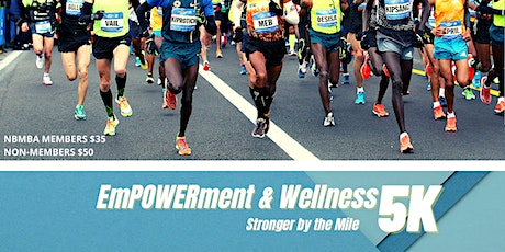 EmPOWERment & Wellness Stronger by the Mile Virtual 5K billets