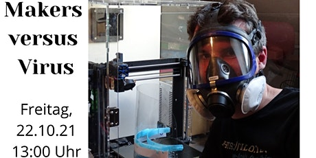 WUEWW 2021 | Makers versus Virus - 3d Printing, Makers, Corovent Tickets