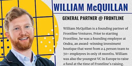 EUVC Founder Community Talk William McQuillan, from Frontline Ventures tickets