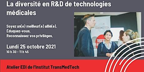 La diversité en R&D de technologies médicales billets
