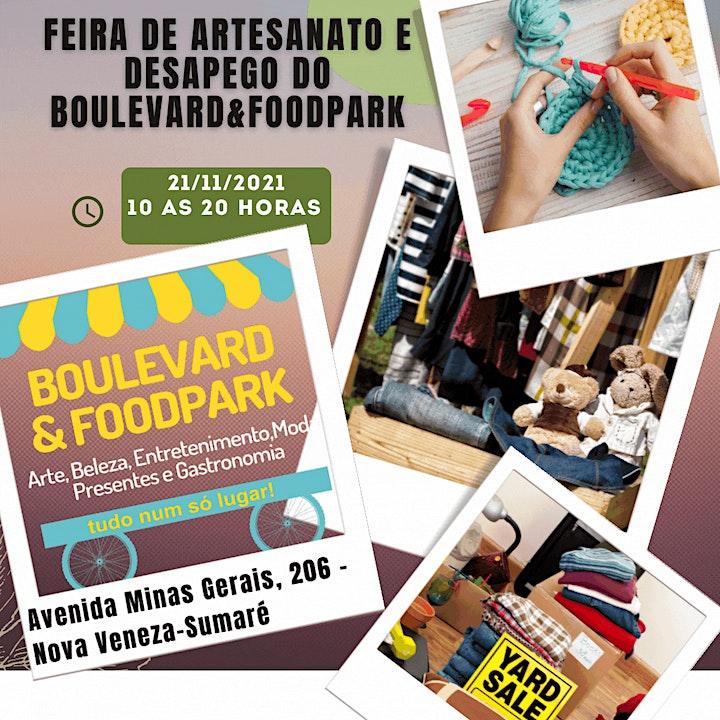 Imagem do evento Feira de Artesanato e Desapego do Boulevard&Foodpark