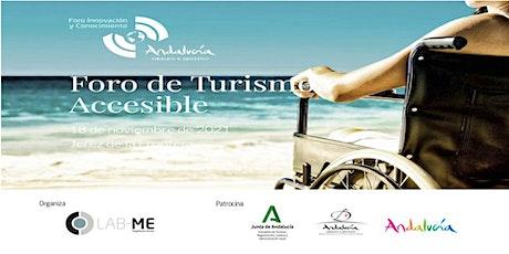 Inscripción VIRTUAL Foro sobre Turismo Accesible boletos