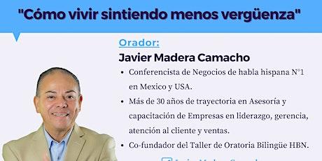 Junta online de Networking con Javier Madera Camacho entradas