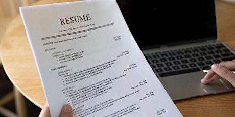 Advanced Resume and LinkedIn Basics Workshop tickets