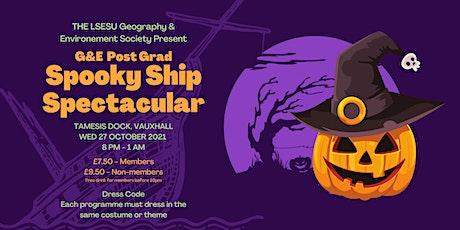 G&E Soc PG - Spooky Ship Spectacular tickets