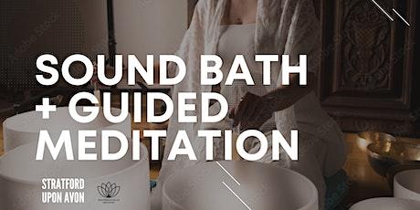 Crystal Bowl Sound Bath + Guided Meditation tickets
