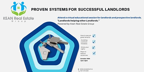 Proven  Systems for  Successful Landlords tickets