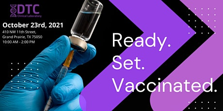 COVID-19 Vaccinations tickets