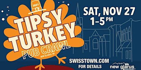 New Glarus Tipsy Turkey Pub Crawl 2021 tickets