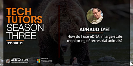 How do I use eDNA in large-scale monitoring of terrestrial mammals? tickets