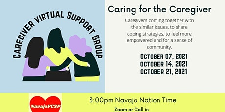 Virtual Caregiver Support Group - October tickets