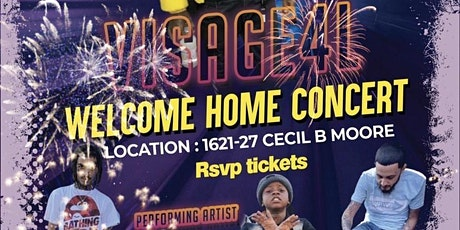 Visage4l Welcome home Concert tickets