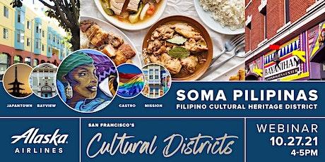 Alaska Airlines: SOMA Pilipinas Filipino Cultural Heritage District Webinar tickets