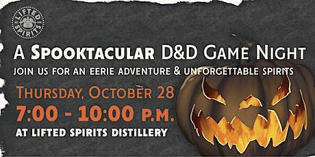 A Spooktacular D&D Game Night tickets