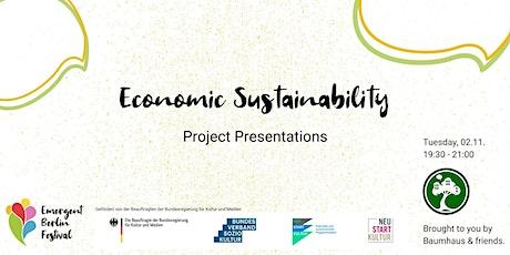 Economic Sustainability: Project Presentations | Emergent Berlin Festival tickets