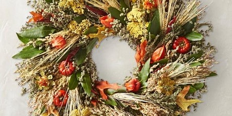 Fresh to Dried Fall Harvest Wreath tickets