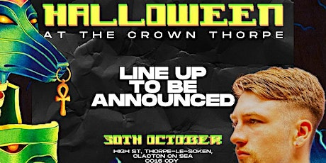 JAMIE FIELDING PRESENTS…..HALLOWEEN HOUSE PARTY @ The Crown, Thorpe tickets