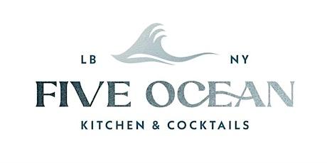Taste NY at Five Ocean tickets
