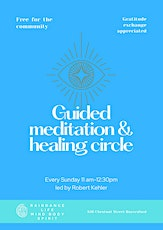 Guided Meditation and Healing Circle tickets