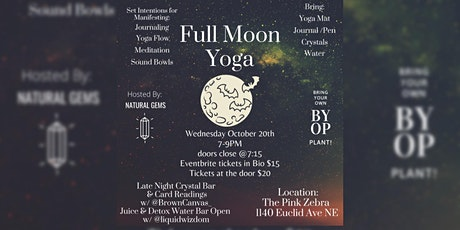 Manifestation Yoga Series: New Moon & Full Moon tickets