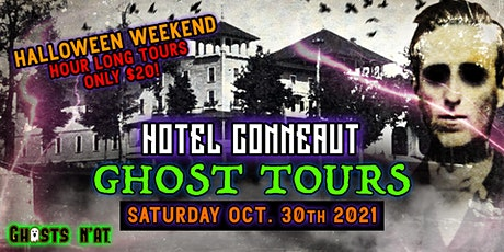 Hotel Conneaut Ghost Tours | Saturday October 30th 2021Halloween Weekend tickets