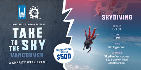 Take to the Sky! A Skydiving Challenge in Abbotsford tickets