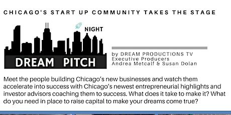 Dream Pitch Night for Startups, New Business with Diverse Backgrounds tickets