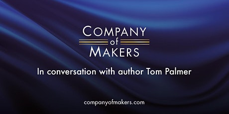 In conversation with... Author, Tom Palmer tickets