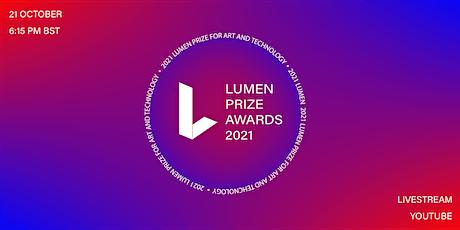 2021 Lumen Prize Awards Ceremony - Live Stream tickets
