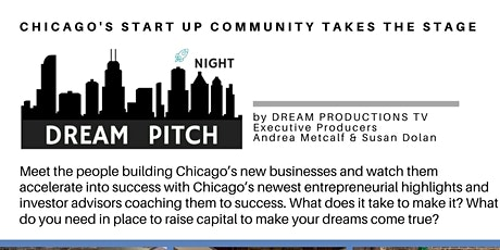 Dream Pitch Night for Startups, New Business in the Fin Tech Space tickets