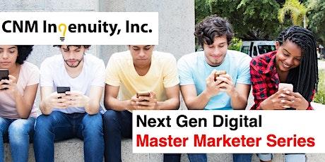 Master Marketer Series: Inside Social Media Marketing Strategy tickets