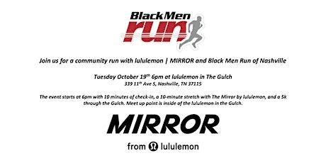 Black Men Run x lululemon   MIRROR tickets