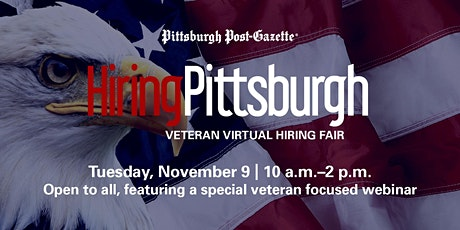 HiringPittsburgh Veteran Virtual Hiring Fair tickets