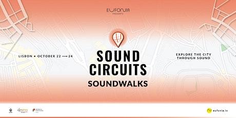 SOUND CIRCUITS - Soundwalks bilhetes