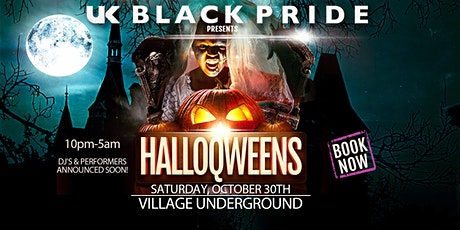 UK BLACK PRIDE - HALLOQWEEN tickets