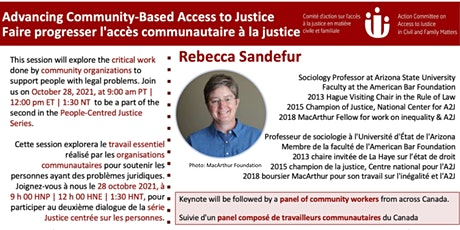 Advancing Community-Based Access to Justice tickets