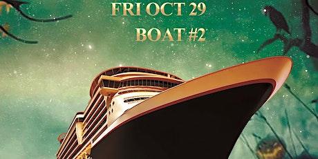 Tdotclub Halloween Boat #2 Party tickets