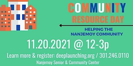 Community Resource Day - Nanjemoy Community - Nov 20, 2021 tickets